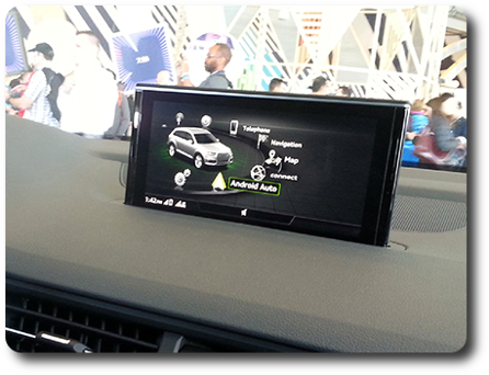 Android Auto for SsangYong